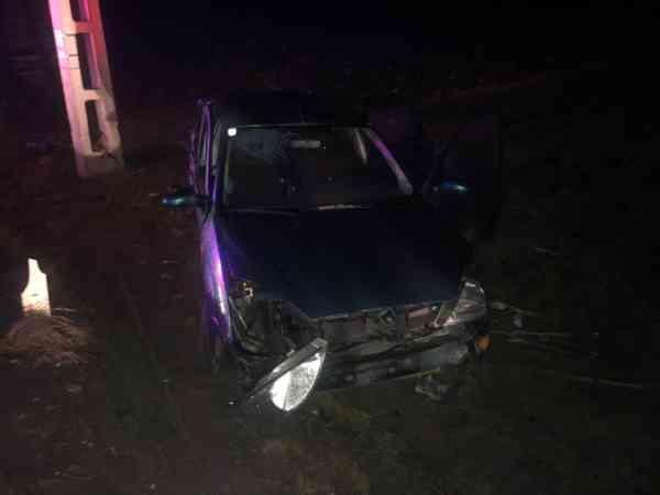 Accident în Feldru, pe DN 17D! Un adult și doi minori, la spital