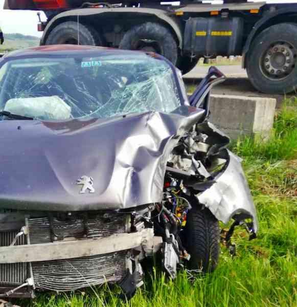 FOTO: Accident pe DN 17, în Josenii Bârgăului! Ieșean, în spital