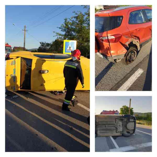 Două persoane au ajuns la spital după un accident rutier produs la Podirei