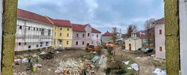 Președintele CJ BN: Lucrări de amploare la secţiile externe ale SJU Bistriţa de pe strada Alba Iulia