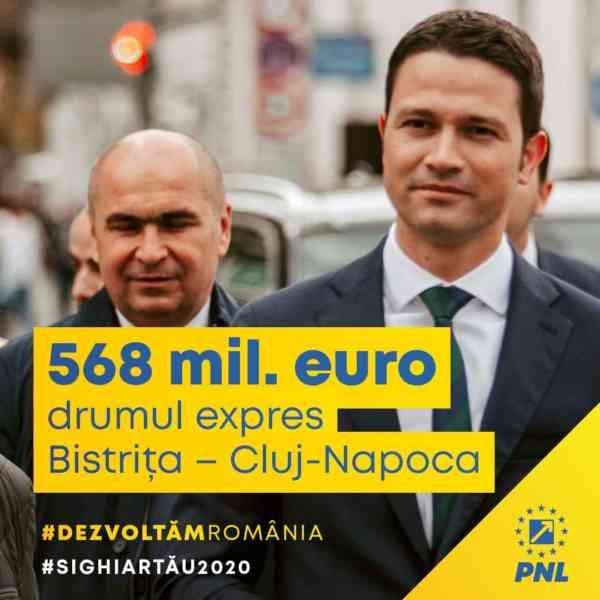 Drumul expres Bistrița – Cluj-Napoca va fi finanțat din fondurile alocate special de Uniunea Europeană pentru relansarea economică post-pandemie