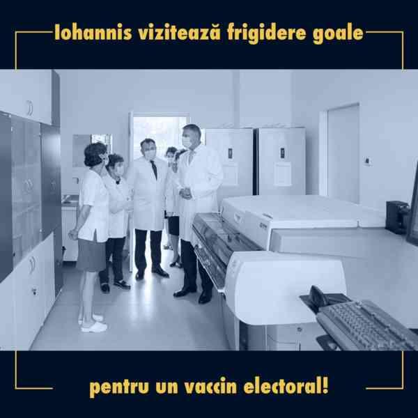 """PSD BN: """"Iohannis și Guvernul Orban vând românilor iluzia unui vaccin anti-COVID-19"""""""