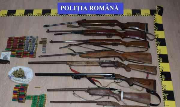 """""""Armurierul"""" din Hălmăsău, trimis în judecată, după mai bine de un an și jumătate de anchetă"""