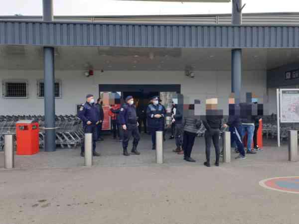 Peste 100 de sancțiuni au aplicat forțele de ordine în cea de-a treia zi de carantină în municipiul Bistrița și localitățile aparținătoare